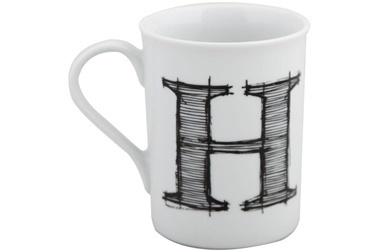Porland Harfli Porselen Kupa H Renkli